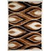 Flora Carpets Isilti Brown/Light Beige Area Rug