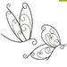Greenware 2 Piece Dragonfly Butterfly Wall Decor Set