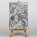 Big Box Art Theadora by Felicien Rops Art Print on Canvas