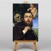Big Box Art Self Portrait with Love and Death by Hans Thoma Art Print on Canvas