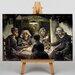 Big Box Art Potato Eaters by Vincent Van Gogh Art Print on Canvas