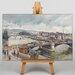 Big Box Art Bridge by Camille Pissaro Art Print on Canvas