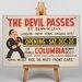 Big Box Art The Devil Passes Vintage Advertisement on Canvas