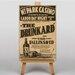 Big Box Art The Drunkard Vintage Advertisement on Canvas