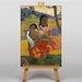 Big Box Art Nafea Faa Ipoipo by Paul Gauguin Art Print on Canvas