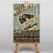 Big Box Art Your Binoculars Vintage Advertisement on Canvas