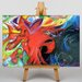 Big Box Art Fighting Forms by Franz Marc Art Print on Canvas