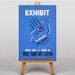 Big Box Art Exhibition No.1 Vintage Advertisement on Canvas