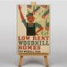 Big Box Art Woodhill Homes Vintage Advertisement on Canvas