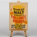 Big Box Art Follow the Parade Vintage Advertisement on Canvas