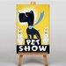 Big Box Art Pet Show No.2 Vintage Advertisement on Canvas