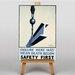 Big Box Art Safety First Vintage Advertisement on Canvas