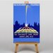 Big Box Art Buckingham Fountain Vintage Advertisement on Canvas