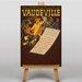 Big Box Art Vaudeville Vintage Advertisement on Canvas
