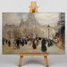 Big Box Art Place St Augustin by Jean-Francois Raffaelli Art Print on Canvas