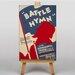 Big Box Art Battle Hymn Vintage Advertisement on Canvas