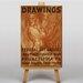 Big Box Art Drawings Vintage Advertisement on Canvas