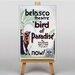 Big Box Art Bird of Paradise Vintage Advertisement on Canvas