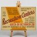 Big Box Art Recreation Centers Vintage Advertisement on Canvas