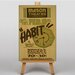 Big Box Art Habit Vintage Advertisement on Canvas