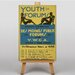 Big Box Art Youth Forum Vintage Advertisement on Canvas