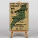 Big Box Art Die Fledermaus Vintage Advertisement on Canvas