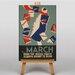 Big Box Art March Vintage Advertisement on Canvas