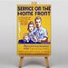 Big Box Art Home Front Vintage Advertisement on Canvas