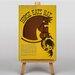 Big Box Art Horse Eats Hat Vintage Advertisement on Canvas