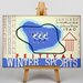 Big Box Art Winter Sports Vintage Advertisement on Canvas