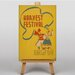 Big Box Art Harvest Festival Vintage Advertisement on Canvas