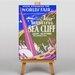 Big Box Art Visit Sea Cliff Vintage Advertisement on Canvas