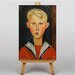 Big Box Art The Blue Eyed Boy by Amedeo Modigliani Art Print on Canvas