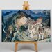 Big Box Art View opf Cagnes by Chaim Soutine Art Print on Canvas