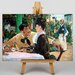 Big Box Art At Father Lathuille by Edouard Manet Art Print on Canvas
