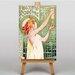 Big Box Art Absinthe Robette by Alphonse Mucha Vintage Advertisement on Canvas