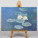 Big Box Art Lily Pads by Claude Monet Art Print on Canvas
