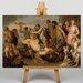Big Box Art The Triumph of Bacchus by Peter Paul Rubens Art Print on Canvas