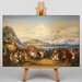 Big Box Art Reception of King Othon by Peter Von Hess Art Print on Canvas