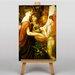 Big Box Art Beautiful Hands by Dante Gabriel Rossetti Art Print on Canvas