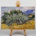Big Box Art Wheat Field with Cypresses No.2 by Vincent Van Gogh Art Print on Canvas
