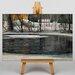 Big Box Art Winter Landscape by Victor Westerholm Art Print on Canvas