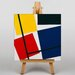Big Box Art Simultaneous Counter Composition by Theo Van Doesburg Graphic Art on Canvas