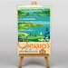Big Box Art Ontarios Lakelands Vintage Advertisement on Canvas