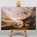 Big Box Art Farm by Jasper Francis Cropsey Art Print on Canvas