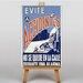 Big Box Art Accidents Vintage Advertisement on Canvas
