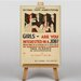 Big Box Art Girls Interested in a Job Vintage Advertisement on Canvas