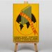 Big Box Art Languages Vintage Advertisement on Canvas