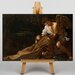 Big Box Art Caravaggio St Francis of Assisi in Ecstacy by Michelangelo Art Print on Canvas