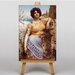 Big Box Art The Dancing Girl by John William Art Print on Canvas